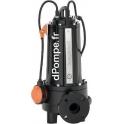 Pompe de Relevage Pedrollo Dilacératrice TRITUS TR 1.5 de 1,2 à 12 m3/h entre 23,5 et 13 m HMT Tri 400 V 1,5 kW