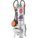 Pompe de Relevage Pedrollo VXm 10/50-ST (MAN) Inox 304 Embouti de 6 à 33 m3/h entre 9,2 et 1,5 m HMT Mono 220 240 V 0,75 kW