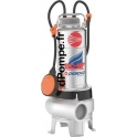 Pompe de Relevage Pedrollo Tout Inox 304 Massif BCm 10/50-MF de 6 à 36 m3/h entre 10 et 2 m HMT Mono 220/240 V 0,75 kW