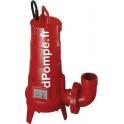 Pompe de Relevage Dilacératrice Pedrollo FL FTR 315 tri D de 3,6 à 18 m3/h entre 29,5 et 14 m HMT Tri 400 V 2,2 kW