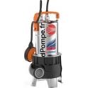 Pompe de Relevage Pedrollo ZXm 1B/40 de 3 à 21 m3/h entre 8,3 et 1 m HMT Mono 220/240 V 0,5 kW