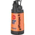 Pompe de Relevage Pedrollo TOP MULTI-TECH II de 1,2 à 4,8 m3/h entre 38 et 5 m HMT Mono 220/240 V 0,55 kW