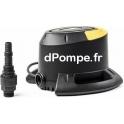 Pompe Vidange Bâche Piscine Dab EUROCOVER de 5 à 0,5 m3/h entre 1,2 et 6 HMT Mono 230 V 0,25 kW