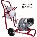 Motopompe Incendie TSURUMI Essence HP TEF3 50 H VD 14 m3/h a 51 m HMT + Aspireau 3 m + Refoulement 40 m + Lance Hudget + Chariot