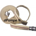 Kit Tuyau de Refoulement Pompier 20 m DN25 avec Raccords DSP Sertis