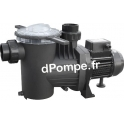 Pompe de Piscine Pedrollo WINNER 50T de 6 à 18 m3/h entre 13 et 4 m HMT Tri 230-400 V 0,37 kW