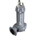 Pompe de Relevage Calpeda DRG 400-2-80HT de 14,4 à 100,8 m3/h entre 20,4 et 3,8 m HMT Tri 400 V 3 kW - dPompe.fr