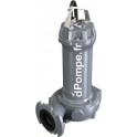 Pompe de Relevage Calpeda DRG 1200-2-80HTA de 14,4 à 158,4 m3/h entre 38,6 et 7,2 m HMT Tri 400 V 9 kW - dPompe.fr
