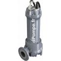 Pompe de Relevage Calpeda DGG 750-2-80HT de 14,4 à 100,8 m3/h entre 15 et 1,7 m HMT Tri 400 V 5,5 kW - dPompe.fr