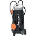Pompe de Relevage Pedrollo Dilacératrice TRITUS TR 0.9 de 2,4 à 10,2 m3/h entre 13,8 et 2 m HMT Tri 400 V 0,9 kW - dPompe.fr