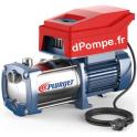 Surpresseur à Vitesse Variable Pedrollo TS2 - PLURIJET 3/130M de 0,6 à 7,8 m3/h entre 48,5 et 24 m HMT Mono 230 V 1,1 kW - dPomp