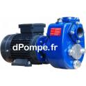 Pompe de Surface BBA Pumps B40 BVGMC de 5 à 21,4 m3/h entre 14,8 et 5,7 m HMT Tri 400 V 1,1 kW - dPompe.fr