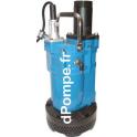 Pompe de Relevage Tsurumi KTVE21.5 de 3 à 25 m3/h entre 19 et 2 m HMT Tri 400 V 1,5 kW Renforcée Spéciale Abrasion - dPompe.fr