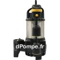 Pompe de Relevage Vortex Tsurumi 50PNI2.4S de 2 à 17 m3/h entre 11 et 1 m HMT Mono 230 V 0,4 kW - dPompe.fr