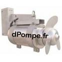 Agitateur Mélangeur Horizontal Inox Tsurumi TBX 1,5 / 6N Débit 535 m3/h Tri 400 V 1,5 kW - dPompe.Fr