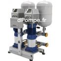 Surpresseur 2 Pompes Ebara 2GPE CVM A/10E EDT de 2,4 à 9,6 m3/h entre 57,5 et 19,5 m HMT Tri 400 V 2 x 0,75 kW