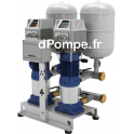 Surpresseur 2 Pompes Ebara 2GPE CVM A/10I EDM de 2,4 à 9,6 m3/h entre 57,5 et 19,5 m HMT Mono 230 V 2 x 0,75 kW