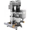 Surpresseur 2 Pompes Ebara 2GPE EVMSG10 8N5/3 ETM EDT de 9 à 30 m3/h entre 84,5 et 39,3 m HMT Tri 400 V 2 x 3 kW