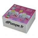 Lot de 25 Plaques Filtrantes R4 - 10 µ pour Filtres COLOMBO 20 x 20 cm - dPompe.fr