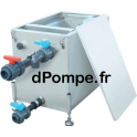Bac à Graisse MINIGR-080 Inox pour Plonge de Cuisine 61 à 80 Repas 1 à 3 Éviers - dPompe.fr
