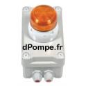 Alarme Flash Montée sur Coffret Mono 230 V 2 W - dPompe.fr