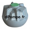 Cuve de Récupération d'Eau GLOBUS 5000 EQUIP - dPompe.fr