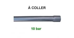 PVC PRESSION À COLLER PN 10